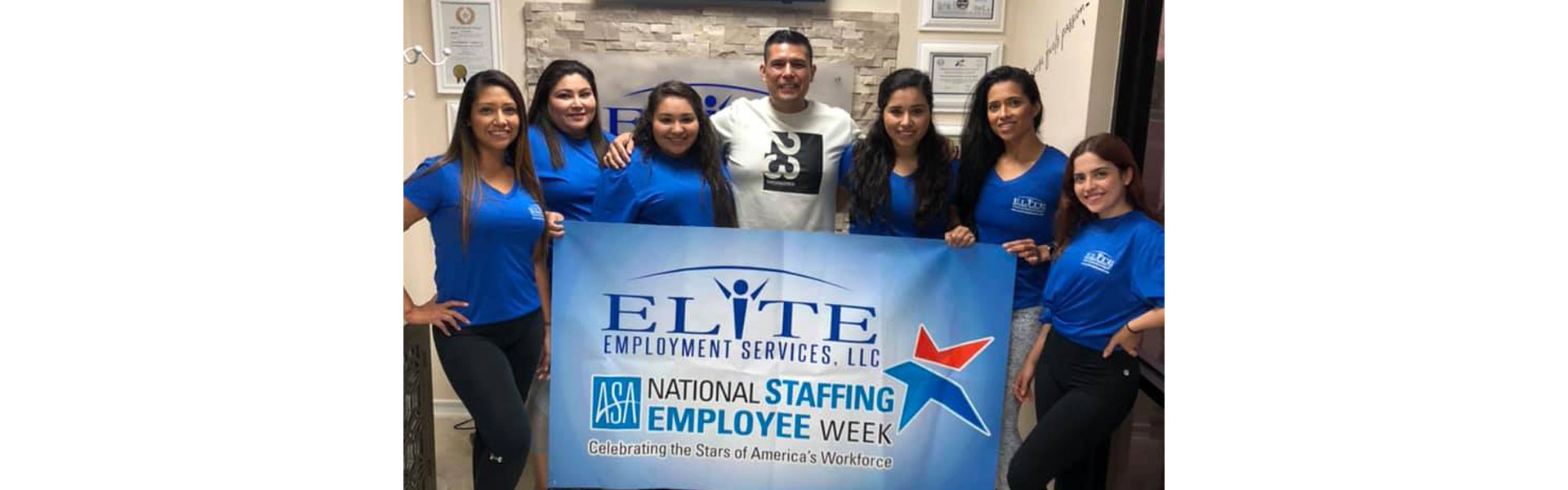 Elite Employment Services celebrated National Staffing Employee Week